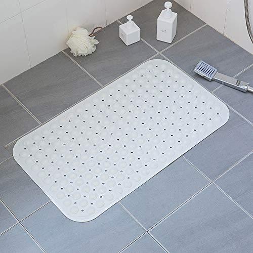 Hcxb-e badmat van rubber, antislip en milieuvriendelijk, antibacterieel, voor douchecabine met zuignappen