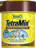 Copos de comida de pescado Tetra Min, alimento completo y variado para...