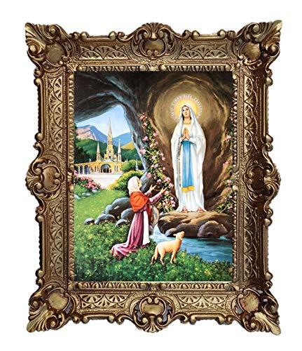 Lnxp Cuadro Madre Lourdes Virgen Virgen de la Virgen de la V