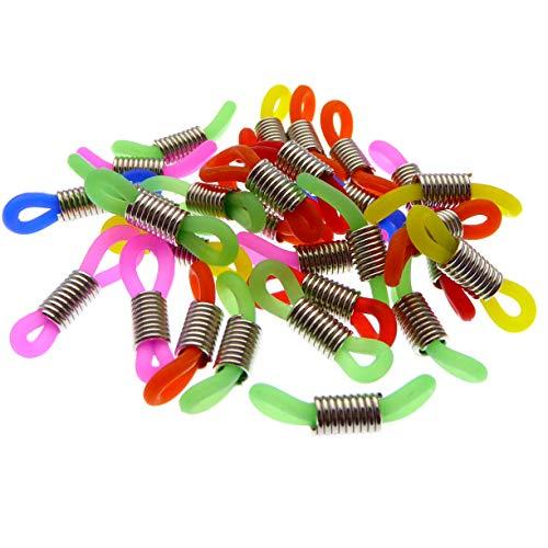 30 Stück Verbinder in vielen Farben für Brillenbänder Brillenöse Brillenschlaufe Selber Brillenbänder Machen