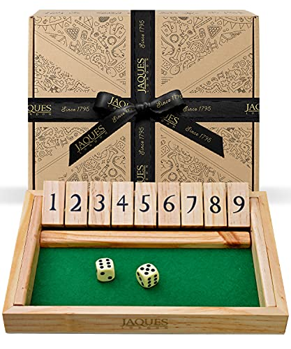 Jaques of London Shut The Box - Luxury 9 Numbers
