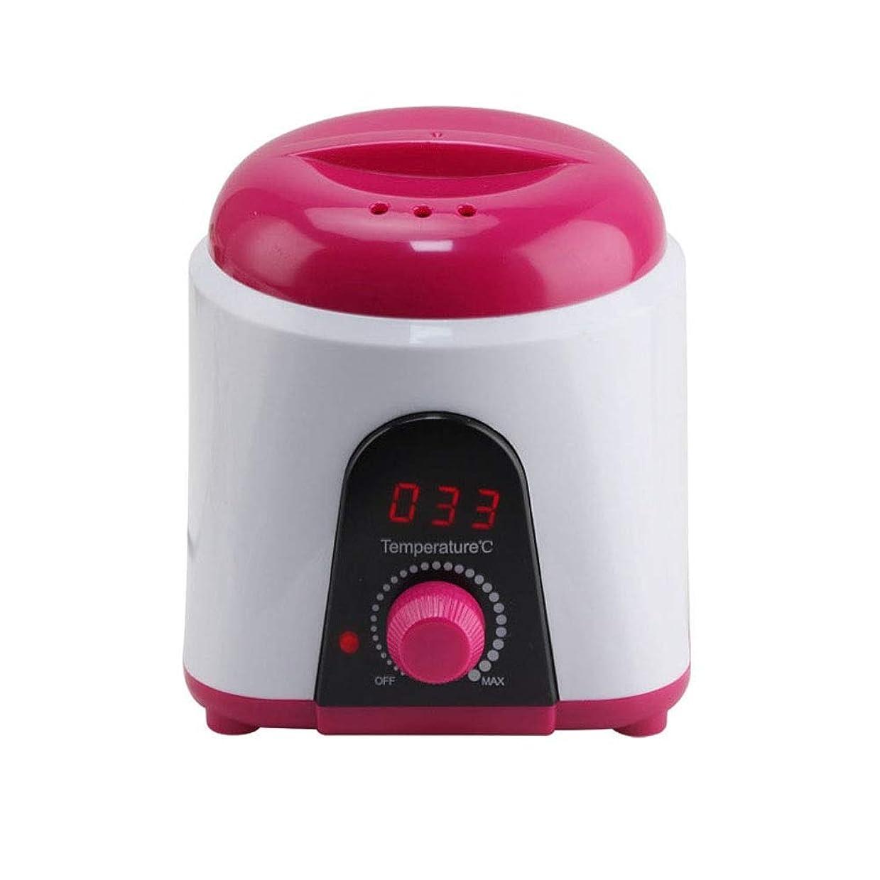 縮れたドリルアーク調節可能な温度のワックスマシン、女性および男性500CCのための多機能の家のワックスが付いている毛の取り外しのための専門の電気ワックスのウォーマーのヒーターのメルター