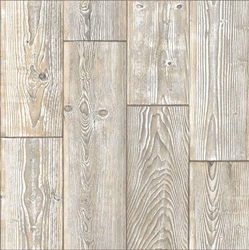 d-c-floor - 1 m² Selbstklebende Bodenfliesen - Fliesenaufkleber für den Boden, Rustic Oak