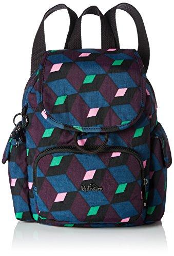 Kipling - City Pack Mini, Mochilas Mujer, Mehrfarbig (Bold Mirage), 27x29x14 cm (B x H T)
