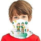 ZVEZVI Niños Cuello Calentador Bandana St Patricks Day Icons Set Variedad para niños Toalla facial Pasamontañas Bufanda Cap
