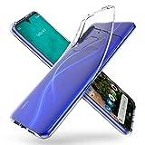 ORNARTO Coque Mi 9 Lite, Coque Ultra Mince Premium TPU Silicone Transparent Flexible Anti-Trace...