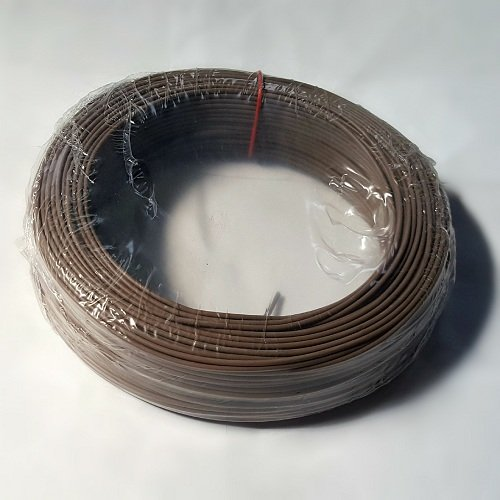 CAVO ELETTRICO N07VK 1x1,5 1,5 mm² N07V-K UNIPOLARE MARRONE IN RAME 50 METRI 8 COLORI DISPONIBILI