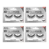 Ardell False Eyelashes 3D Faux Mink 853, 4 pairs
