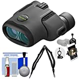 Pentax Papilio II 6.5x21 Binoculars with Harness Strap + Smartphone Adapter + Cleaning Kit