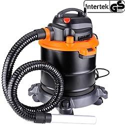 AREBOS Fahrbarer Aschesauger Kaminsauger mit 1200W Motor und HEPA Filter