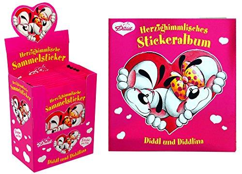 Diddl-Herzighimmlisches Set (Album&Sticker)