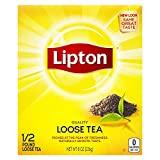 Lipton Loose Tea For An Iced Tea or Hot Tea Beverage Black Tea Can Help Support a Healthy Heart 8 oz