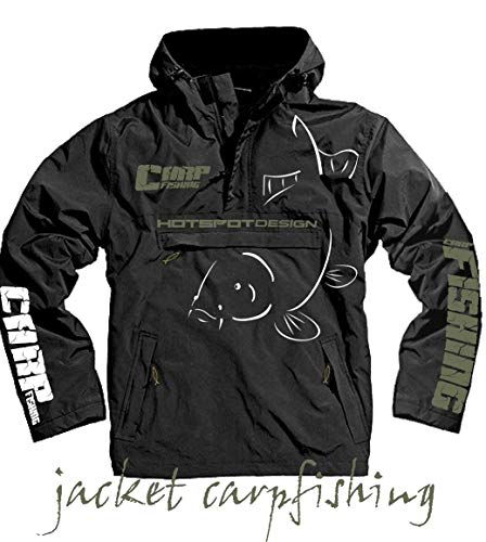 HOTSPOT DESIGN Carpfishing Vest Carpfishing, SZ. XXL, Coupe-Vent et imperméable à l'eau