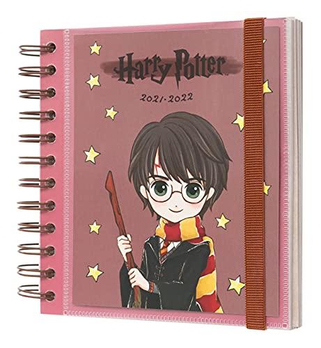 Agenda Harry Potter 2021 2022 - Agenda Escolar 2021-2022 / Agenda 2022 dia por página - Agenda 11 meses desde Agosto de 2021 a Junio de 2022 │ Producto con licencia oficial - Agenda Erik