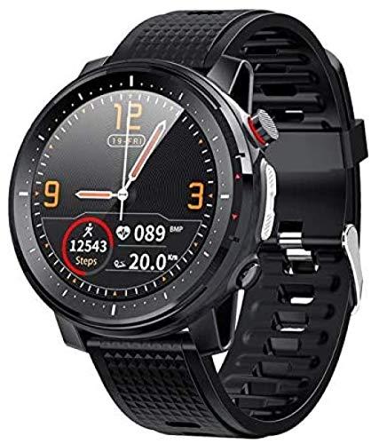 Smart Watch Herren 3,3 cm Full-Fit Round Retina 306 * 360 Display Musiksteuerung Kamera Taschenlampe Smartwatch Ip68 Wasserdicht 1