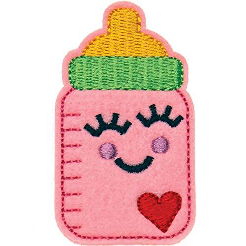 Baby Bottle Badge Reel - Pediatrist Badge Holder - Labor Delivery NICU Pediatric RN Nurse Gift