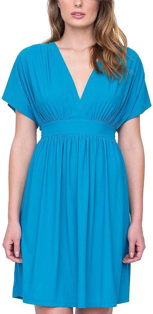 Gottex womens V-neck Beach Dress Swimsuit Cover Up