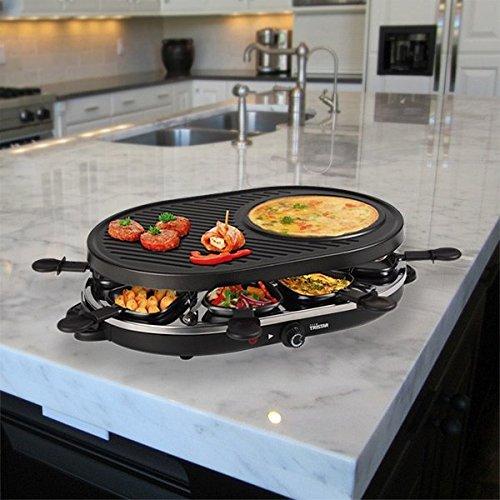 Cexpress–Raclette con Crepiera Tristar ra2996