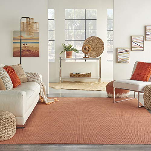 Nourison Positano Flat-Weave Indoor/Outdoor Terracotta 38 FS - $38