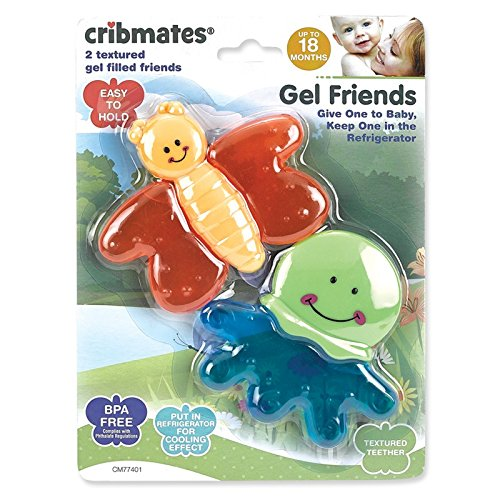 Cribmates Teether, Gel Friends