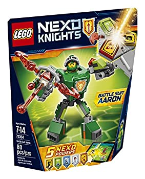 LEGO Nexo Knights Battle Suit Aaron 70364 Building Kit  80 Piece