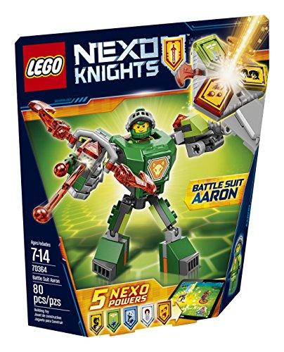 LEGO Nexo Knights Battle Suit Aaron 70364 - Kit da costruzione (80 pezzi)