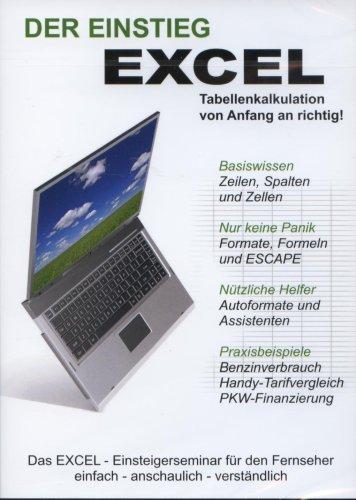 Excel - der Einstieg - Die Microsoft EXCEL Schulung - DVD [Edizione: Germania]