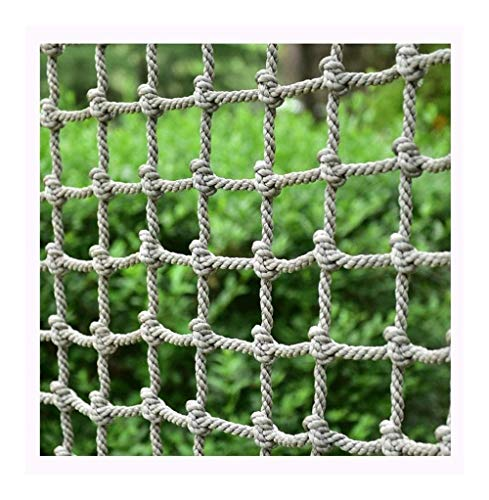 For Sale! CXZ Climbing Net Swing Set,Kids and Baby Patios Railings Stairs Balcony Anti-Fall Net Prot...