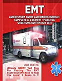 Image of EMT Audio Study Guide Audiobook Bundle! Complete A-Z Review & Practice Questions Edition Box Set!: Ultimate NREMT Test Prep For Passing The EMT Exam! Best EMT Book To Help You Learn! 2 Books in 1!
