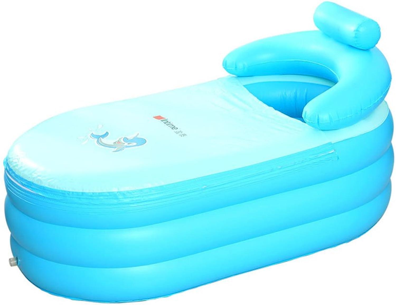 LYM & aufblasbarer Pool Aufblasbare Badewanne Erwachsene Kinder Home Badewanne Falten verdicken Badewanne Pool aufblasbar