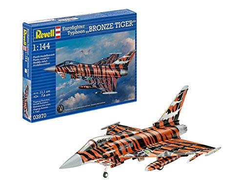Revell - 03970 - Eurofighter Bronze Tiger - 63 Pièces - Echelle 1/44