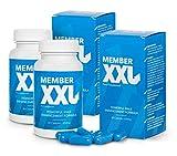 MEMBER XXL - Powerful Male Enhancement Formula, Food Supplement (120 Kapseln)