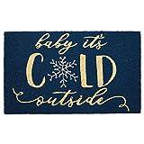 DII DM Merry Xmas Chalkboard Doormat, 18x30,