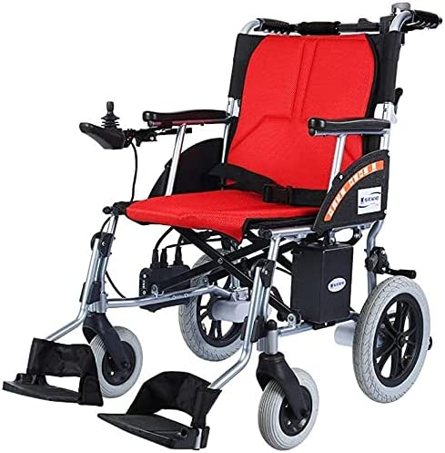 SXDYJ Max 60% OFF Electric Wheelchair Folding Light Limited price sale Disassembled Be Lit Can
