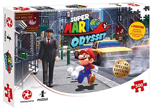 Puzzle Super Mario Odyssey New Donk City, 500 pc