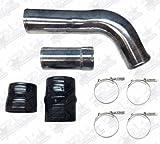 Hot Side Intercooler Pipe & Boot Kit For 2011-2016 Ford 6.7L Powerstroke Diesel