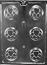 Grandmama's Goodies A140 Paw Print Cookie Chocolate Candy Mold with Exclusive Molding Instructions