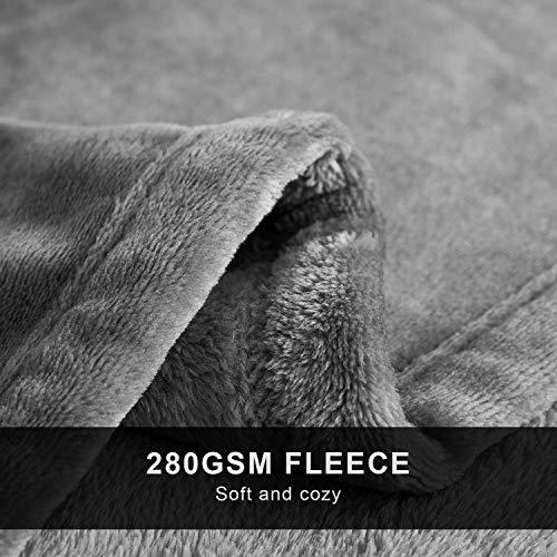 Hanssleep Decke für Sofa Flanell 150x200...