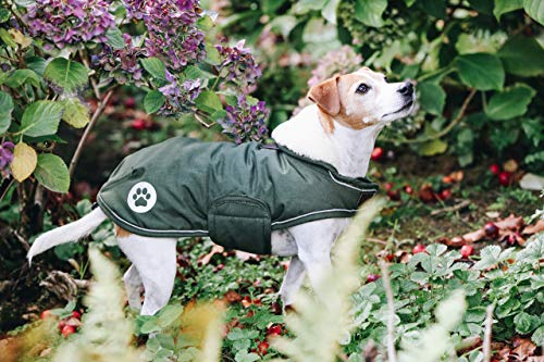 Hundemantel wasserdicht M grün
