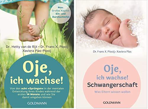 """Oje, ich wachse-Set: """"Von den acht """"Sprüngen"""" in der mentalen Entwicklung Ihres Kindes"""" + """"Schwangerschaft: Was Eltern wissen wollen"""""""