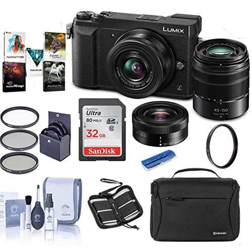 Panasonic Lumix DMC-GX85 Mirrorless Camera with...