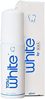 Micro Foam Toothpaste, Teeth Whitening Deep Cleaning for Ultrasonic Electric 360° Toothbrushes IGIA Total White 60ml Foaming Photocatalyst Toothpaste (1 Pack)