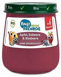 100% Bio: milde Babynahrung mit natürlichen Zutaten in Bio-qualität, ohne Zucker- und Salzzusatz, kein Wasserzusatz und andere unnötige Zusatzstoffe Spaßig und Lecker: Beikost-Spaß für Babys ab 6 Monaten. Durch besonders ausgewählte Bio-Zutaten und d...