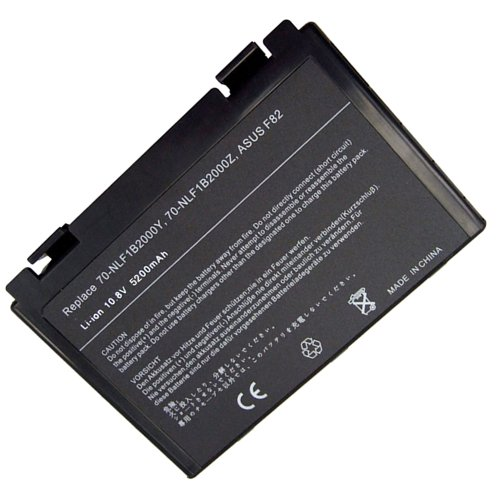BTMKS Lavolta A32-F82 A32-F52 - Batería para portátil ASUS K50 K50AB K50C K50i K50IJ K50iN K51 K51AC K70 K70IJ K70IO K40 K40e K40ij K40in F52 F82 3s L06 90L6 90-NVD1B1000Y Batería