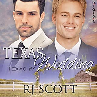 Texas Wedding audiobook cover art