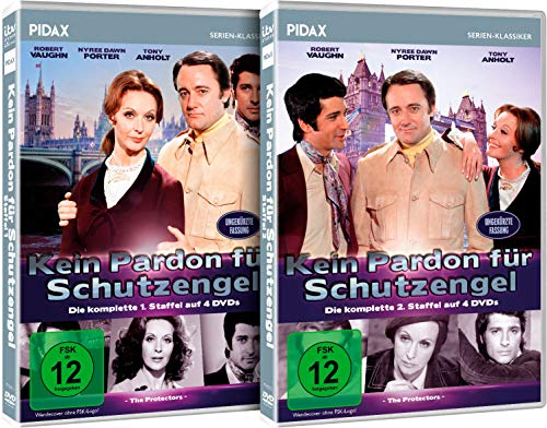 Kein Pardon für Schutzengel - Gesamtedition / Die komplette Kult-Serie auf 8 DVDs (Pidax Serien-Klassiker)