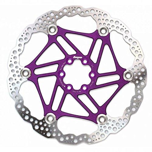 Hope Rotor de frein à disque flottant pour VTT Violet 160 mm