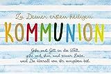 Perleberg Karte zur Kommunion Basic Classic - Textkarte