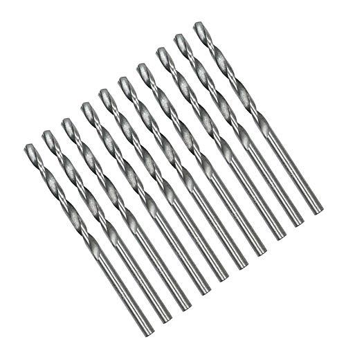 50Pcs HSS High Speed Steel Drill Bits Set 1/1.5/2/2.5/3mm Tool Power Tools Set Accessories For Dremel Rotary Tool