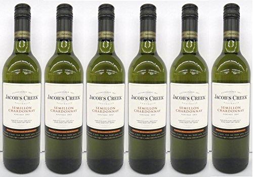 6x Jacobs Creek Semillon/Chardonnay 12,5% 0,75L (Australien)